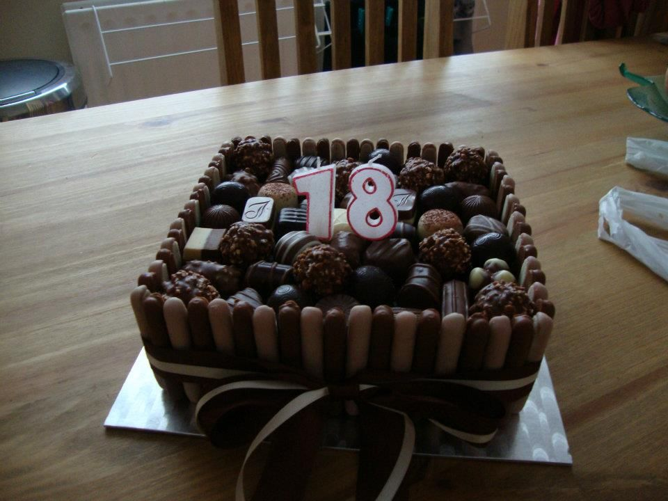 A Chocolate Birthday Cake For Her 18th We May Have A
