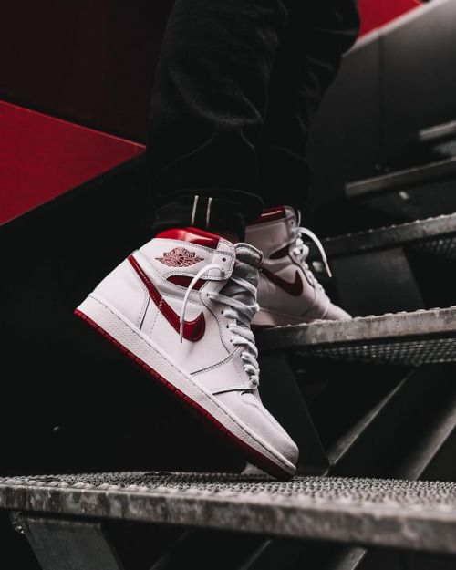 Air Jordan 1 High OG  Metallic Red    555088-103 Click to shop ... c15f22c1a7