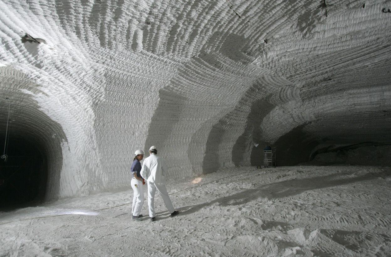 Salt Mine Asse In Remlingen Germany Underground Pinterest