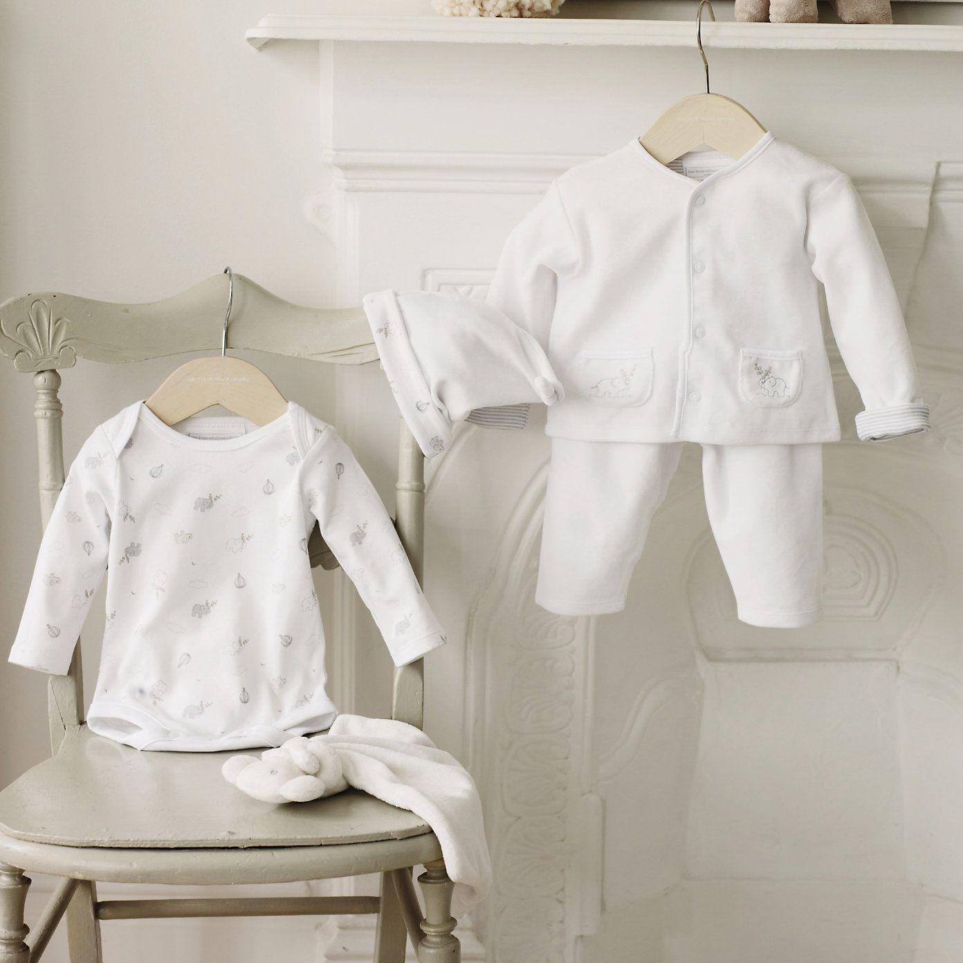 Buy baby baby sleepwear elephant motif gift set from the white buy baby baby sleepwear elephant motif gift set from the white company negle Image collections