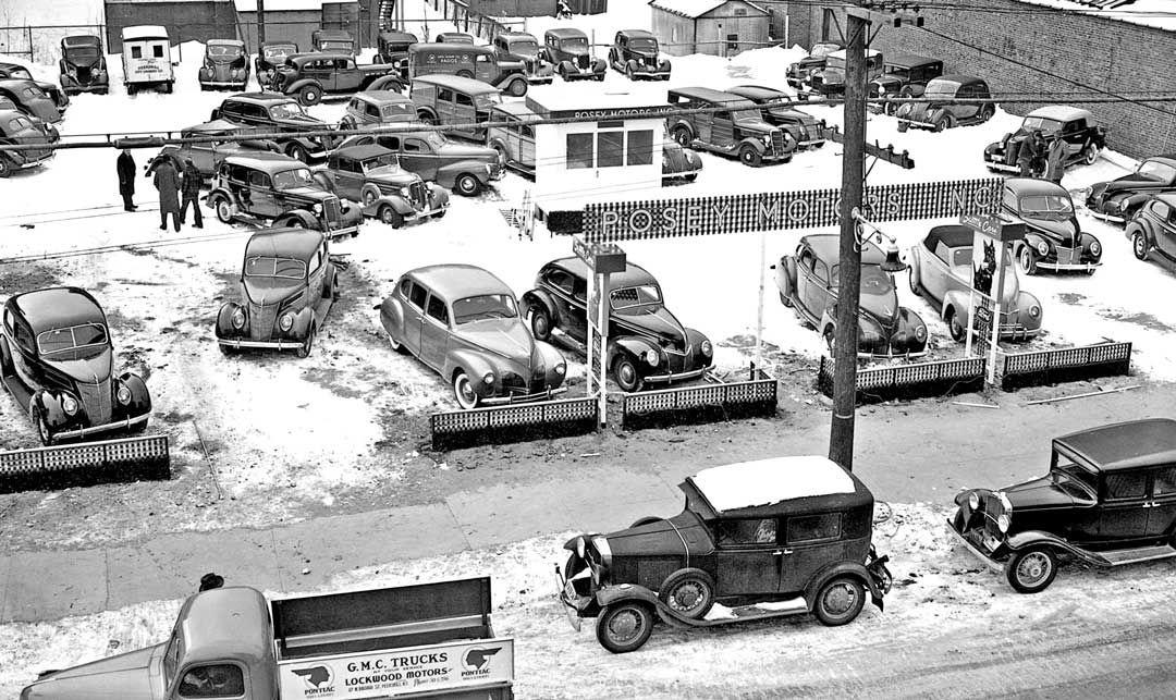 "Posey Motors Inc. – ""Scottie Cars"" Used Car Sales Lot | vintage ..."