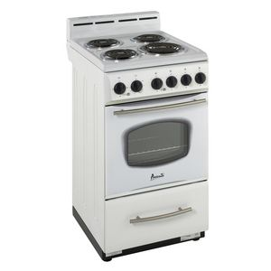 Avanti 20 Free Standing Electric Range White Kitchen Best Appliances Electric Range Mini Stove