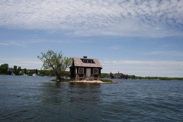 this little cottage on aptly named just room enough island in the thousand islands is a next. Black Bedroom Furniture Sets. Home Design Ideas