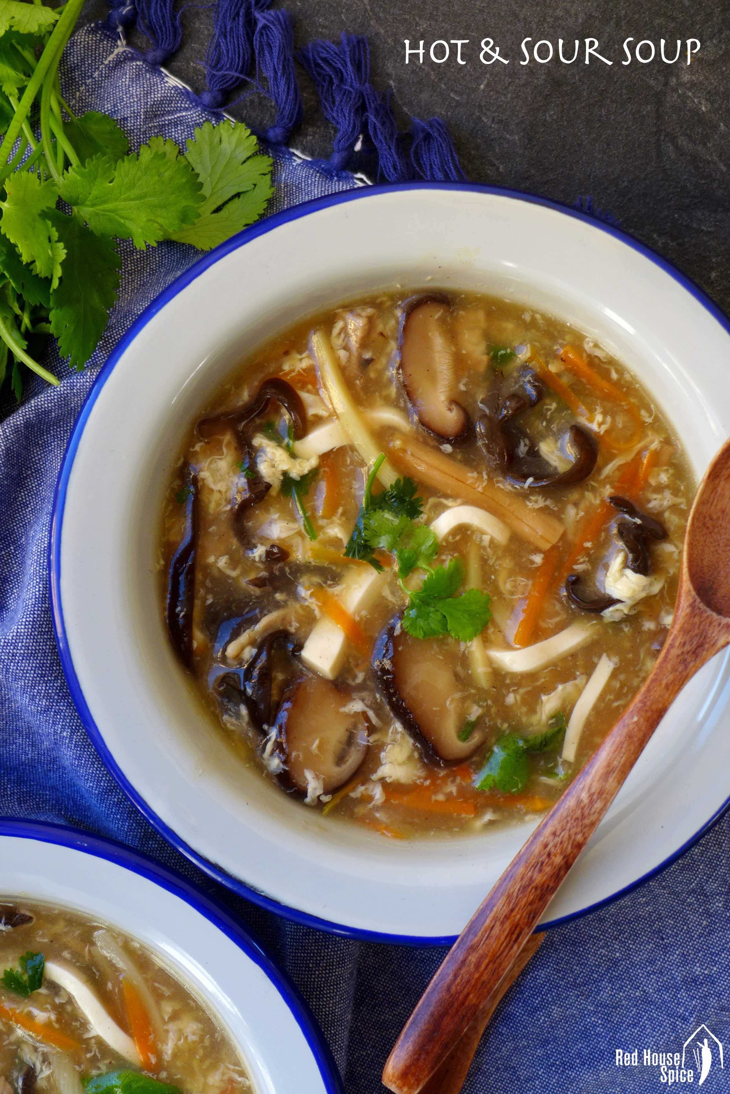 Hot And Sour Soup 酸辣汤 Recipe Hot And Sour Soup Sour Soup Easy Chinese Recipes