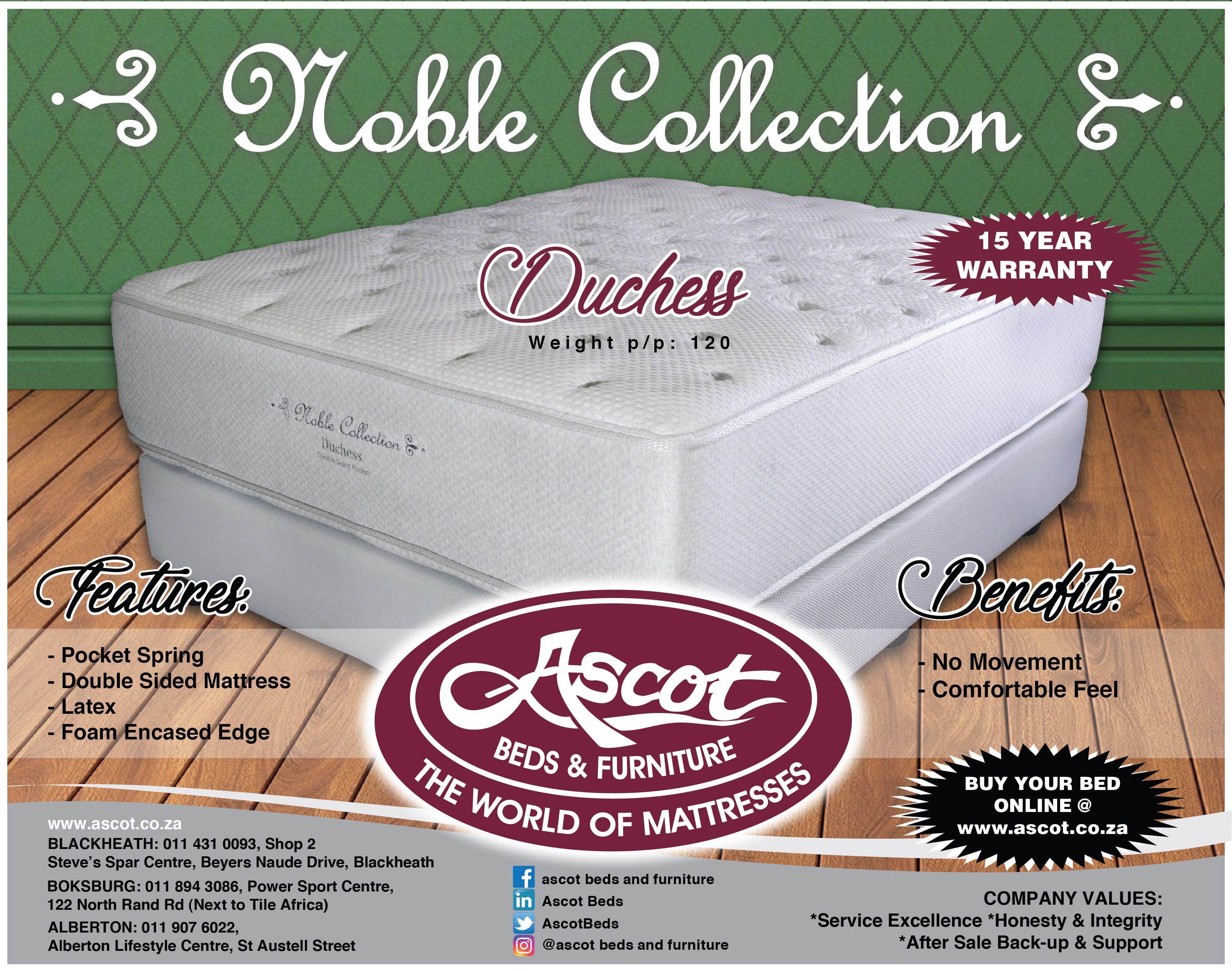 Meet The Noble Collection Duchess Mattress Buying Mattress Mattress Box Springs