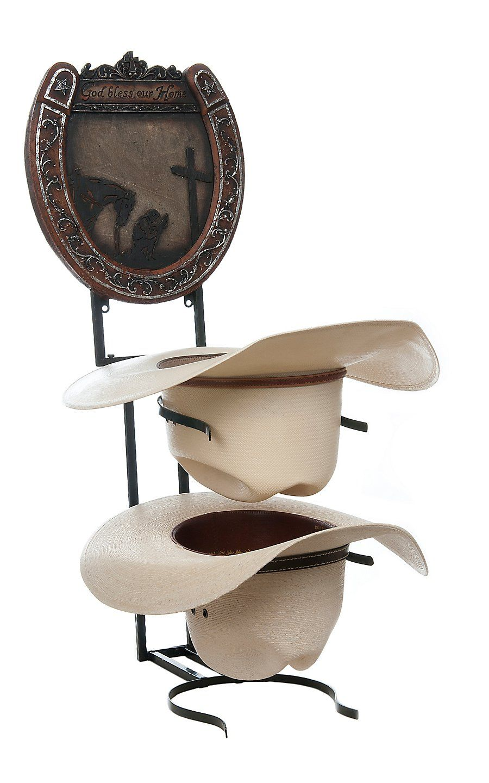 ❁༺ ❤ ༻❁༺ M Western Products Rustic Cowboy Prayer Hat Shelf ...