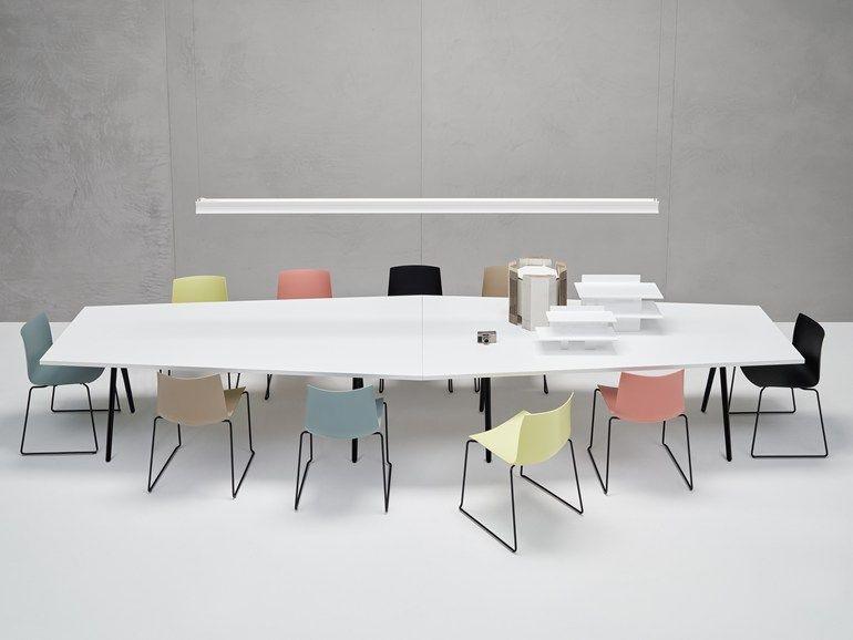 Tavolo Componibile ~ Tavolo da riunione modulare meety tavolo da riunione collezione