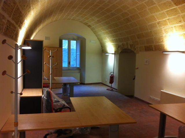 L esaltazione del soffitto a volta con illuminazione palazzo
