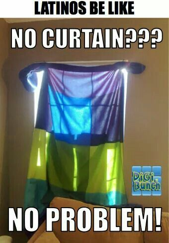Mexican Humor Growing Up Curtains