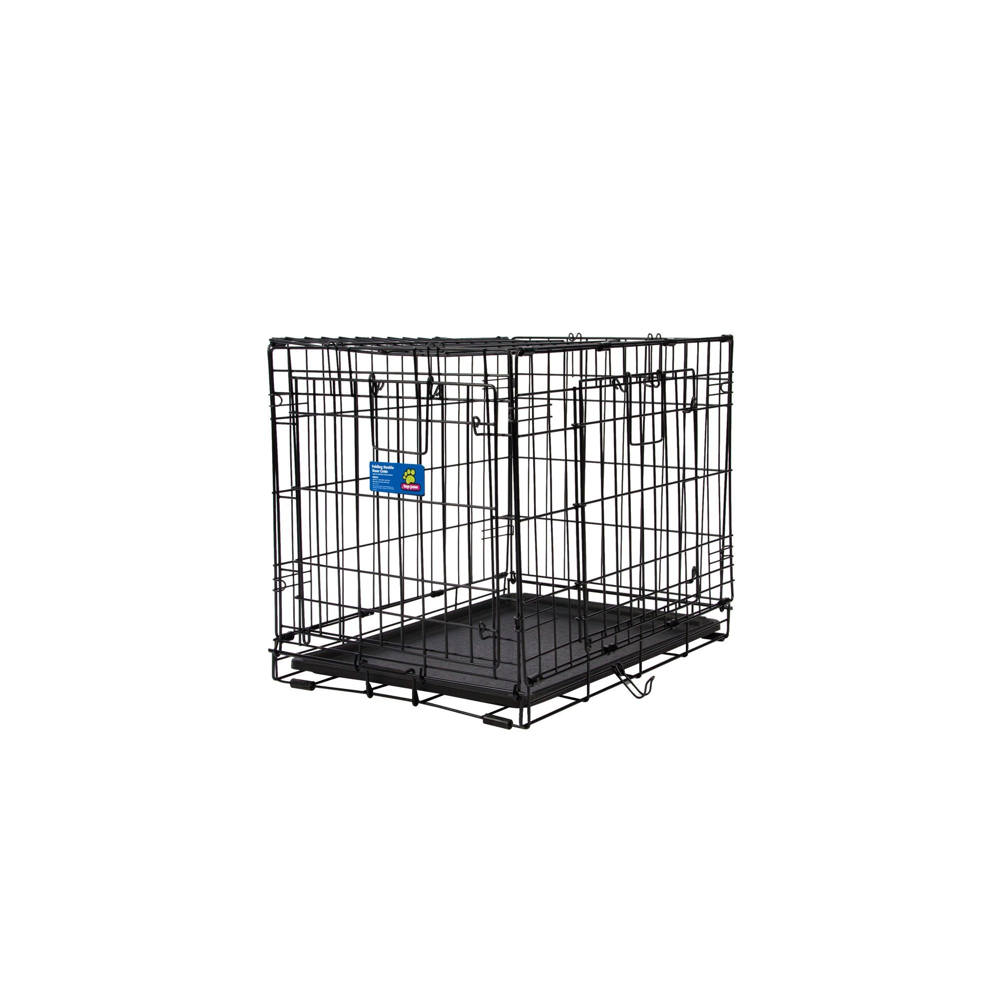 Top Paw Double Door Wire Dog Crate Products