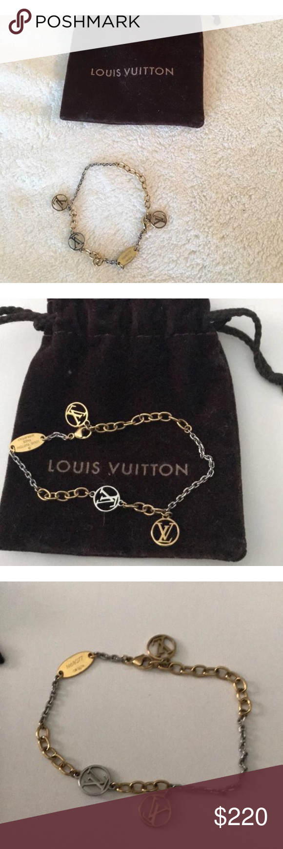 Louis vuitton logomania bracelet louis vuitton louis vuitton
