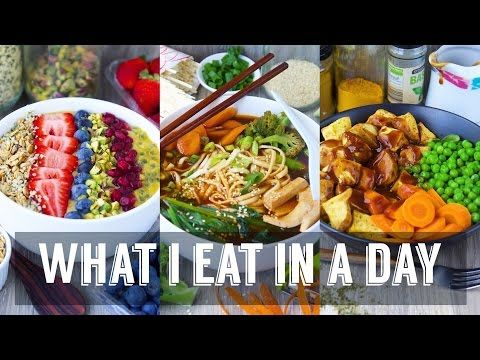 What I Eat In A Day | Vegan #54 - YouTube