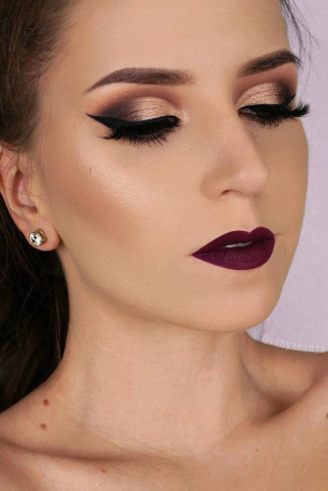 36 Best Winter Makeup Looks For The Holiday Season Hair Beauty