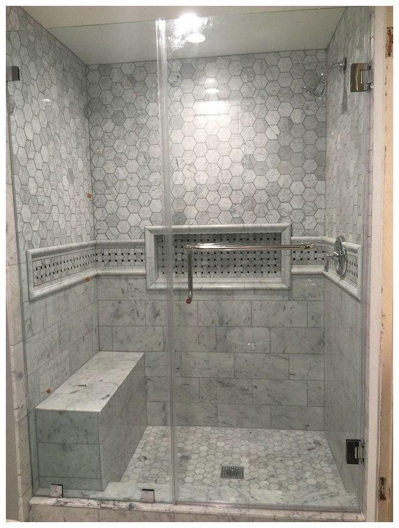 54 Lovely Bathroom Shower Remodel Design Ideas For Your Home