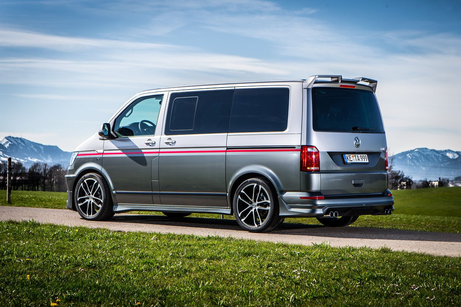 Abts Vw T6 Special Blows The Candles On Two Cakes Euro
