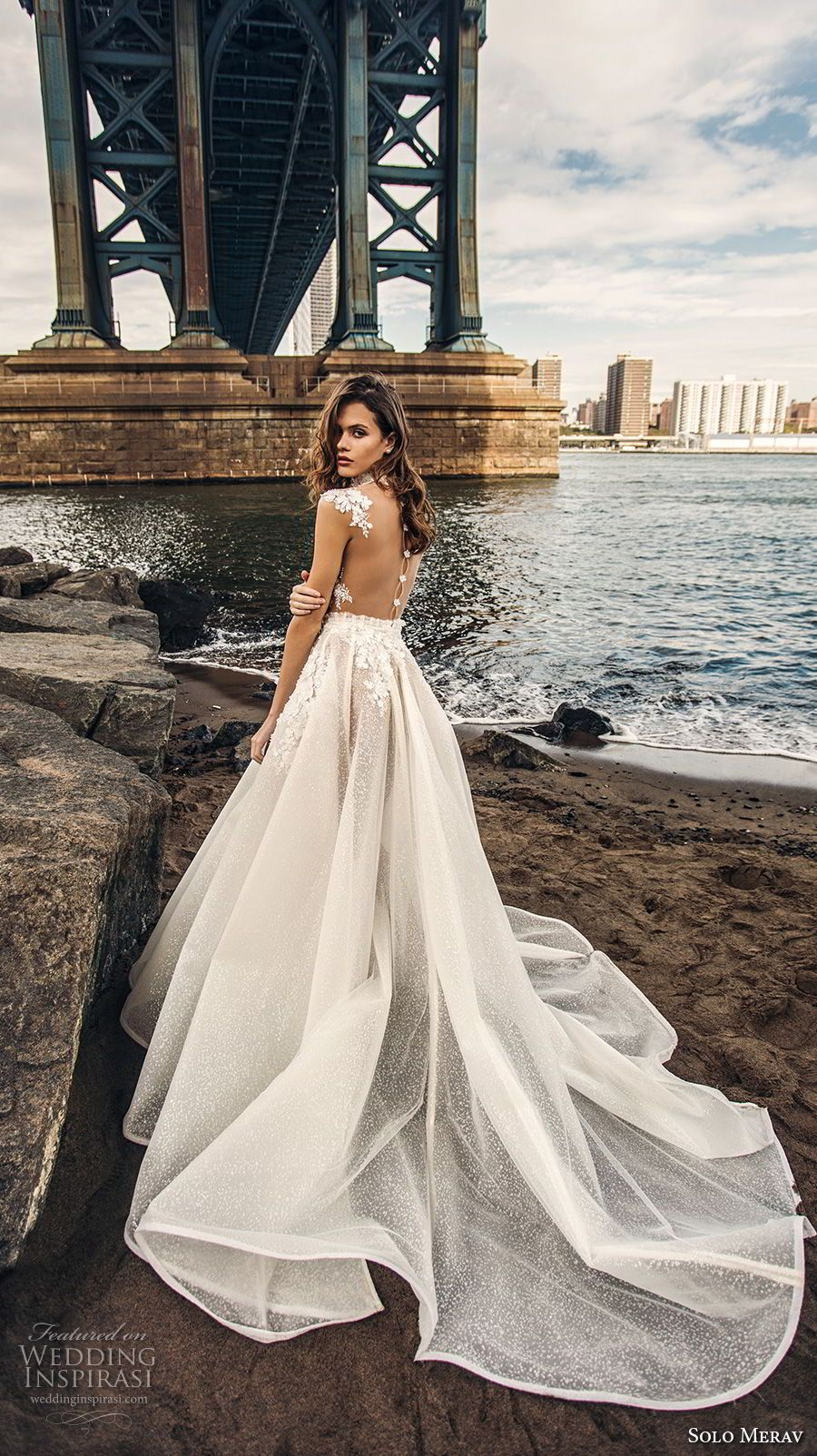 Solo Merav 2018 Wedding Dresses White Princess Bridal Collection