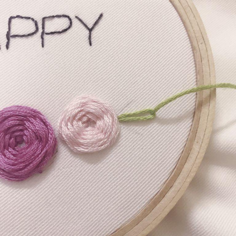 التطريز اليدوي تعلم ثلاث غرز أساسية وتنفيذها على باترون Handmade Embroidery Hair Accessories