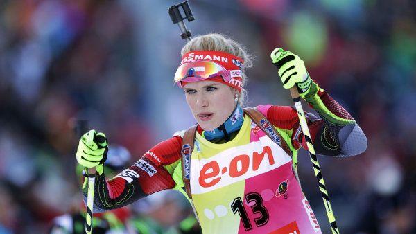 Soukalová vyhrála Světový pohár v Ruhpoldingu. Vítková přidala třetí místo