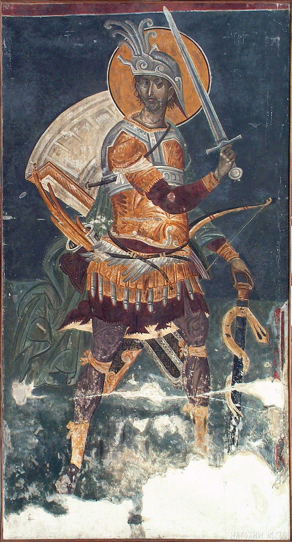 Sv. ratnik Merkurije, Gračanica