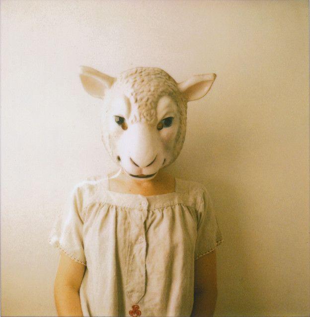 Beautiful Sheep mask. #sheep