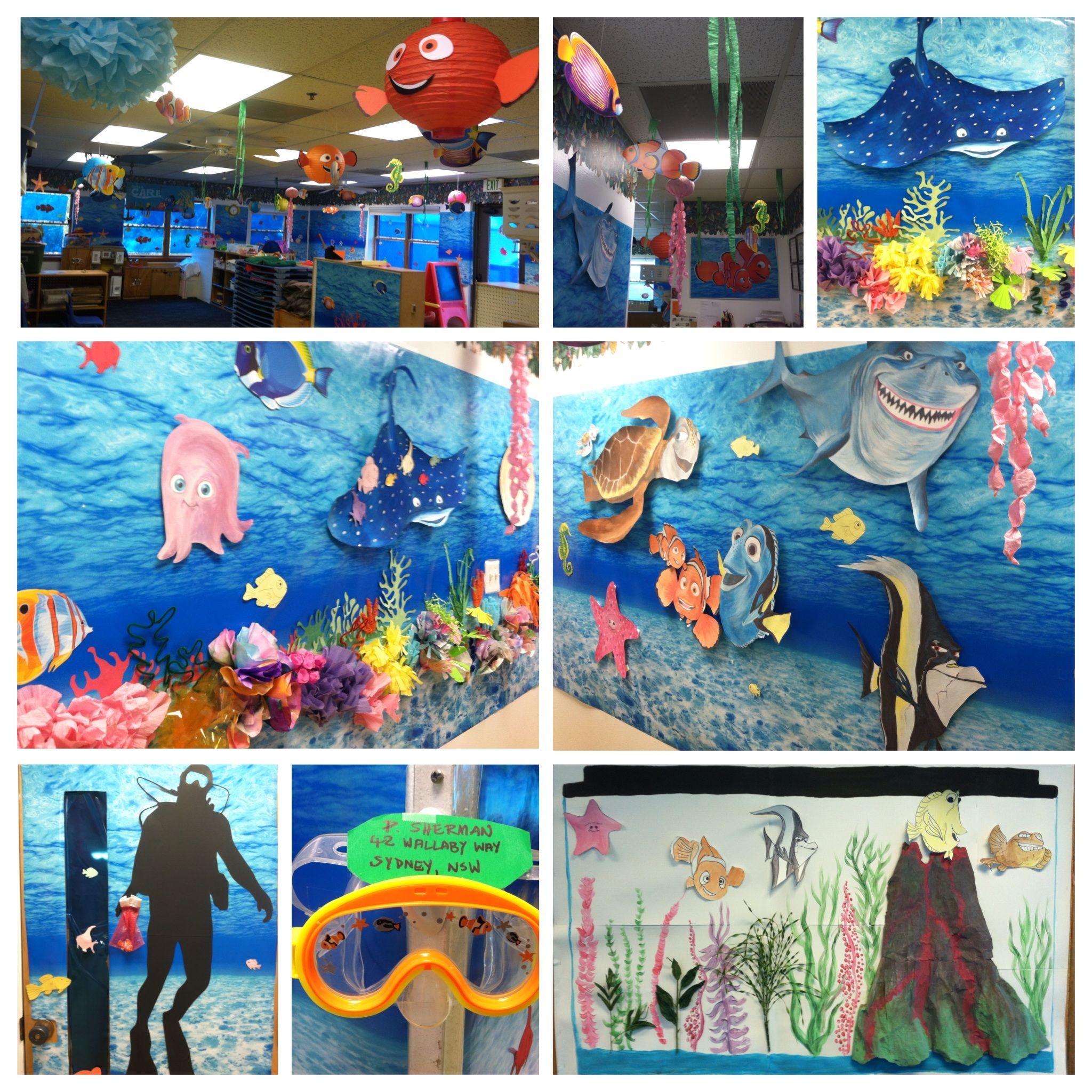 Disney S Finding Nemo Underwater Themed Preschool Room