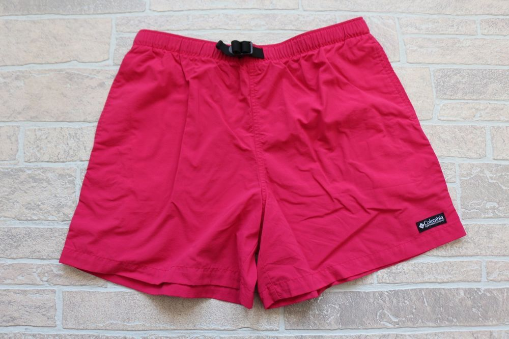 329f2640d2 Columbia Womens Solid Pink Magenta Nylon Quick Dry Shorts Large Hiking  Outdoor #Columbia #Athletic #Summer