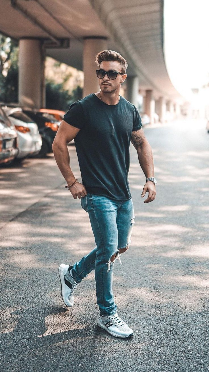 If You Like Street Style, Try These Outfit Ideas in 2020 | Summer outfits men, Simple casual ...