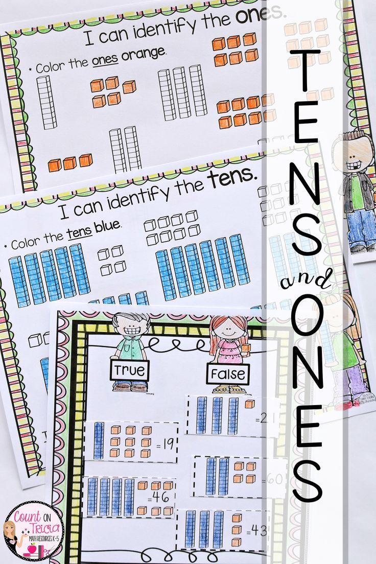 Tens And Ones Worksheets Tens Ones Tens Ones Worksheets Kindergarten Math Istep practice worksheets grade
