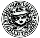 Treasure Valley Roller Girls Roller Derby Logo