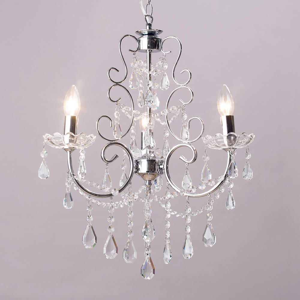 Shabby chic chandelier shades chandelier design ideas chrome vintage shabby chic style ceiling pendant light shade chandelier aloadofball Images