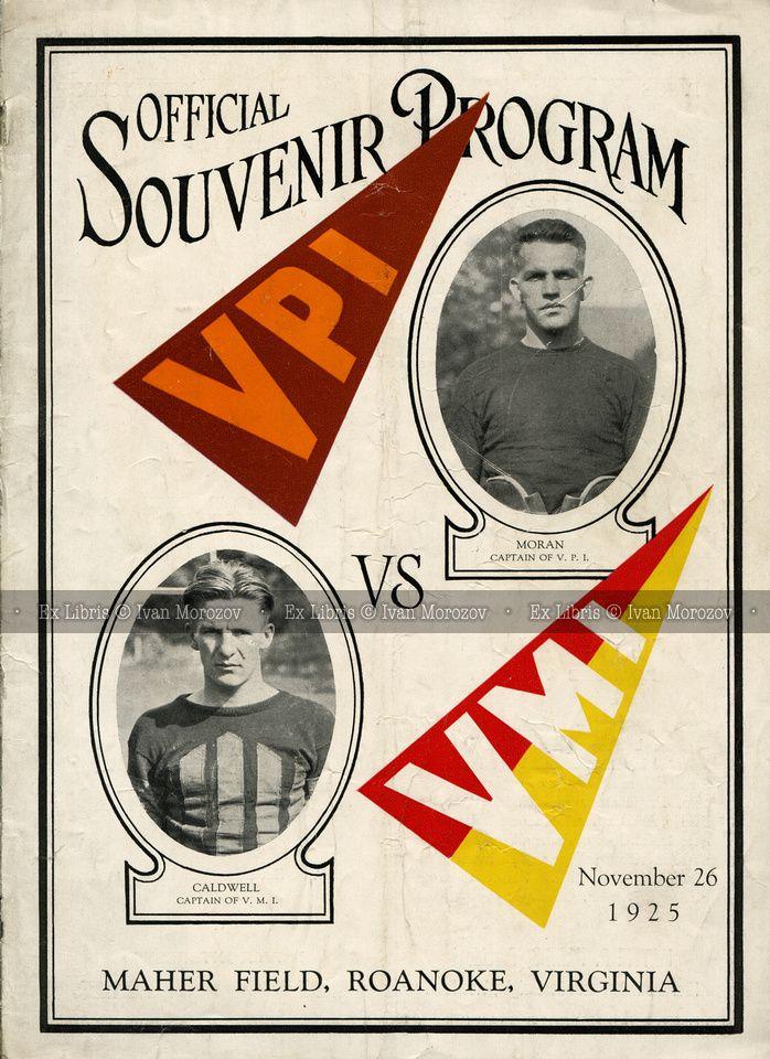 1925.11.26. Virginia Tech vs Virginia Military Institute