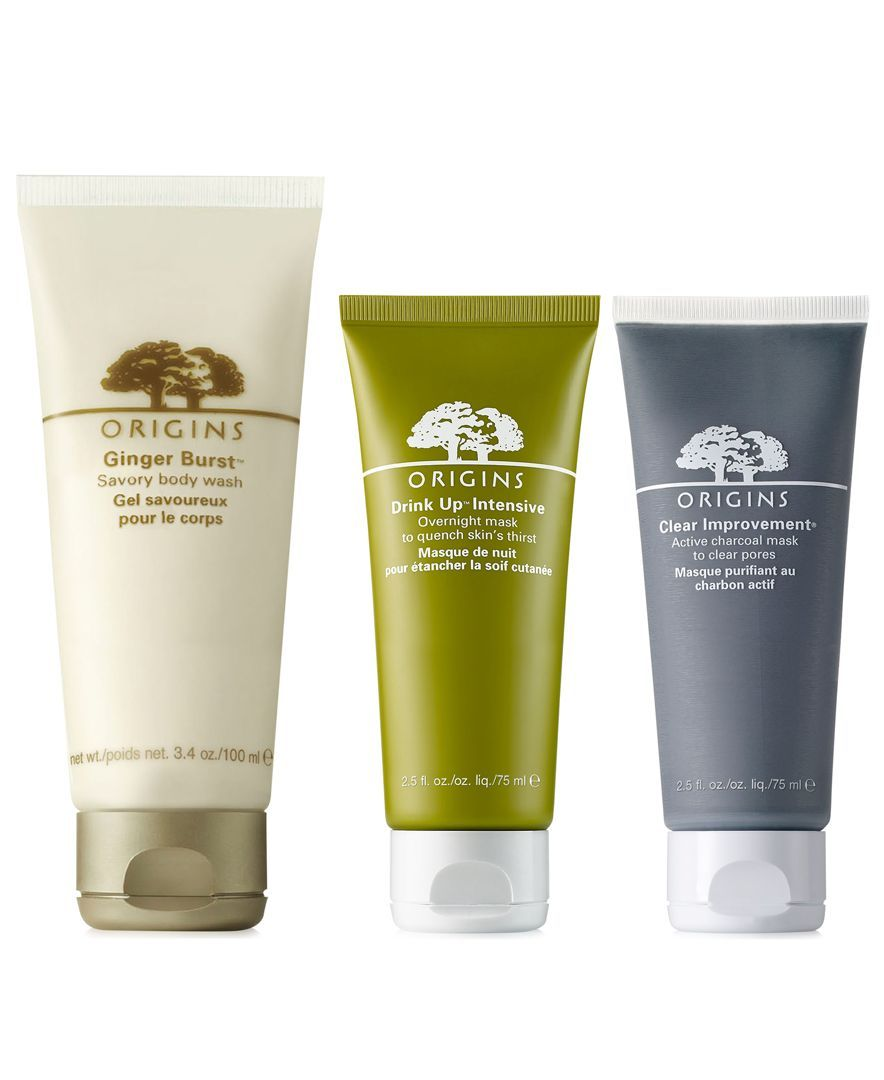 Choose 1 out of 3 deluxe gifts with any $75 Origins purchase