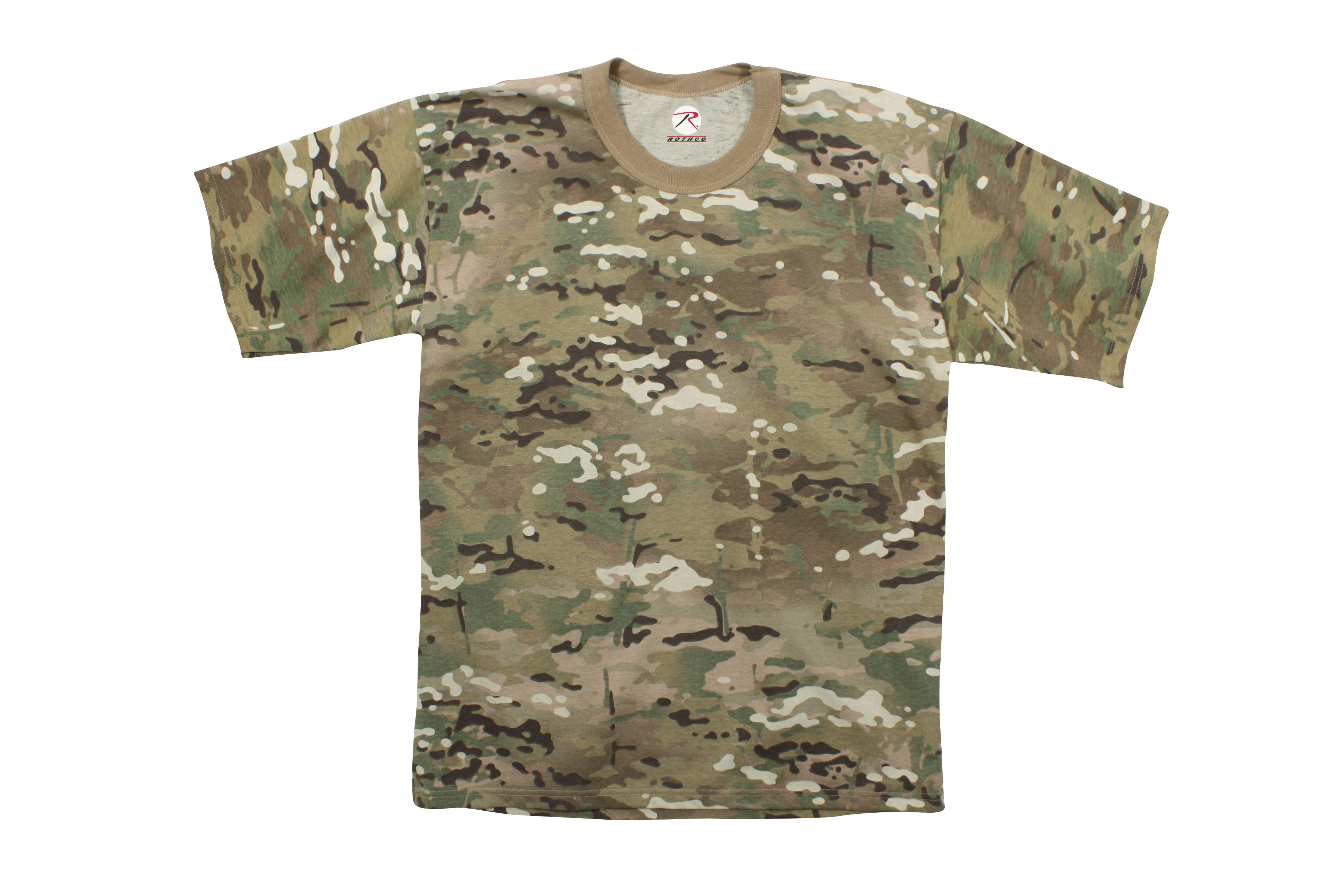 11c3618eb715 Multicam T-Shirt | Everything Camo | Camouflage t shirts, T shirt ...