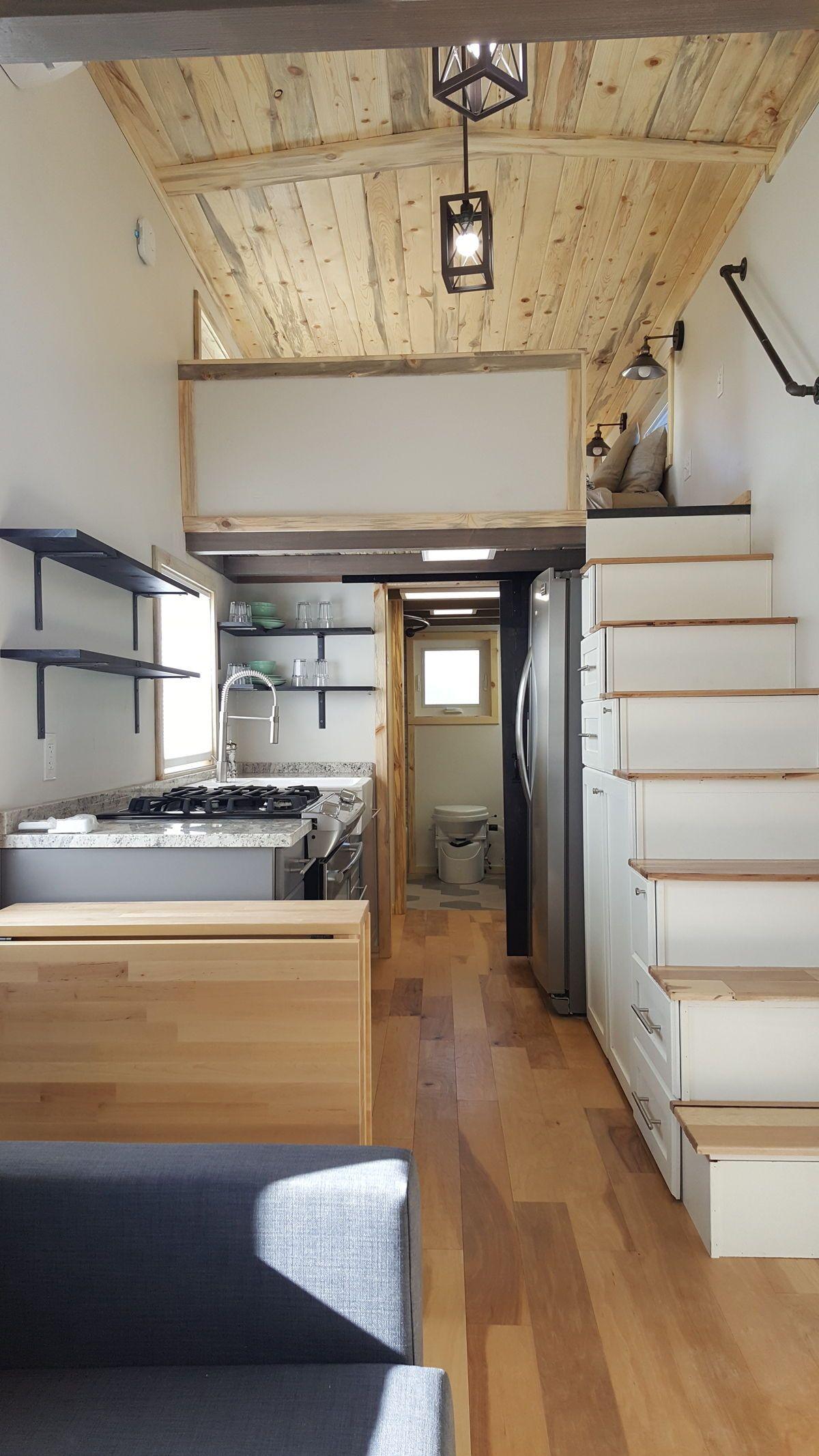 Tiny Solar Home By Alpine Tiny Homes Tiny House Kitchen Tiny