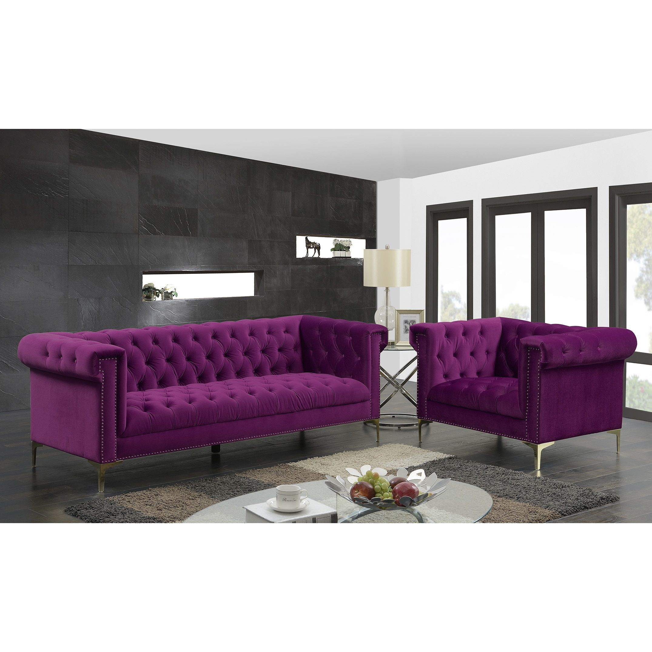 aubergine decor to room chaise your and complete sleeper warm colored lounge ro sofa slipcover purple velvet furniture plum lavender chesterfield loveseat living eggplant couch
