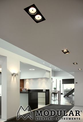 Modular Lighting Multiple Trimless inbouwspots | Woonkamer ...