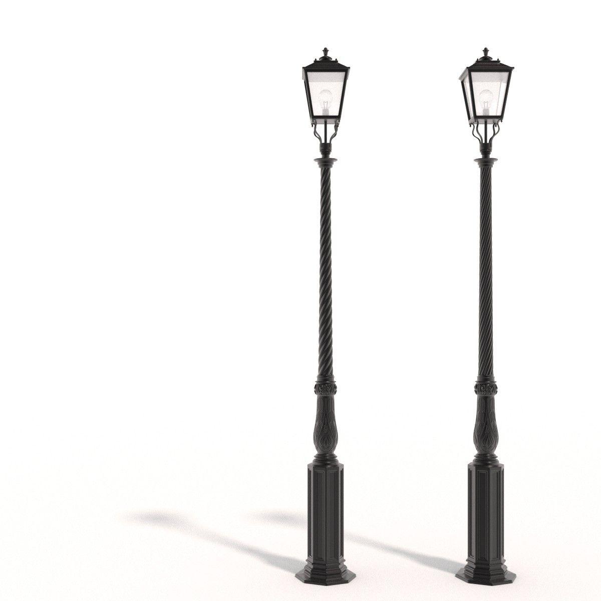 Cast Iron Street Lamps 3d Obj Street Lamp Cast Iron Lamp