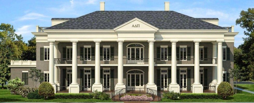 The New Alpha Delta Pi House At The University Of Alabama Alpha