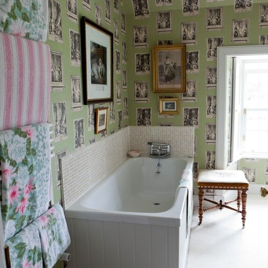 Bon Designer Bathroom Wallpaper Uk