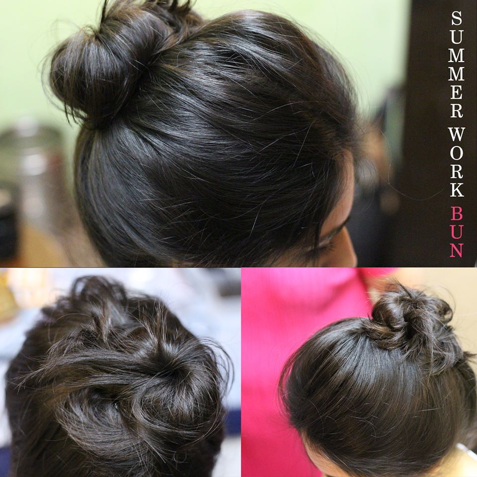 beautiful heatless bun hairstyles that are actually easy to make