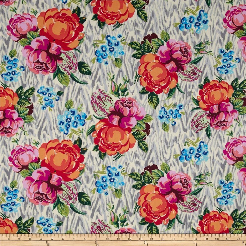 Amy Butler Home Decor Fabric Lion Brand Vannas Choice Yarn 144 Magenta Rowan Home And Colors