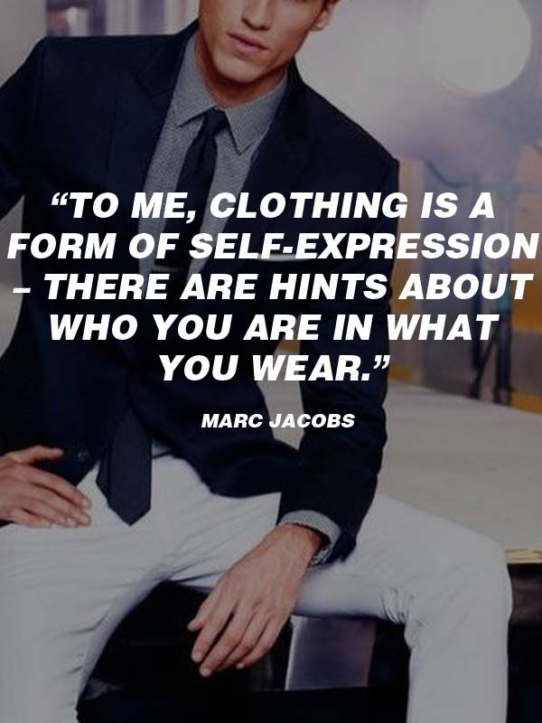 Fashionable Thoughts: 20 Best Men's #Fashion #Quotes To Step Up Your #Instagram
