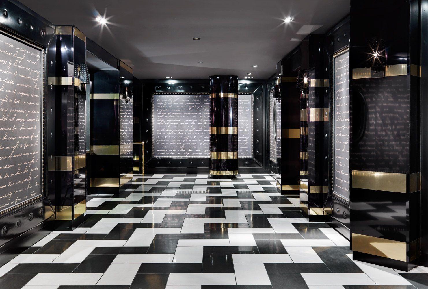 1 Oak Nightclub The Mirage Hotel Casino Las Vegas Interior Design By Studio Munge Medusa