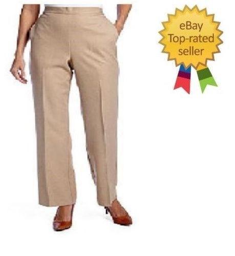 Liz Claiborne Womens  Straight Twill Cuffed Pants size 4 6 8 14 16 18 NEW
