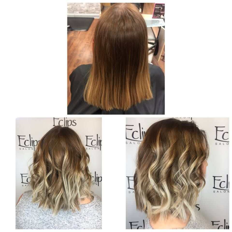 Ombré turned icy! Reserve today: (703) 327-9408 or visit http://eclipsashburn.com