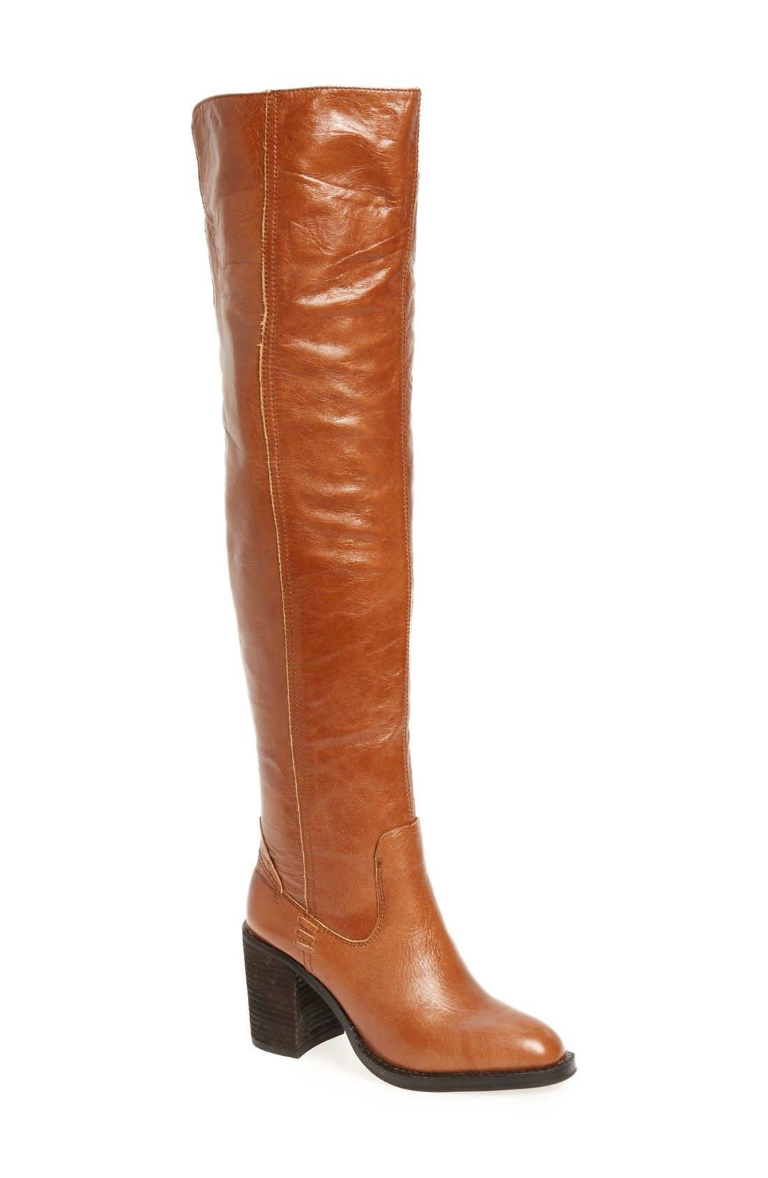 Jeffrey Campbell 'Raylan' Over the Knee Boot (Women) available at #Nordstrom