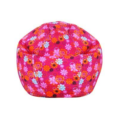 80dfdace1c7 Zoomie Kids Pink Polyester Bean Bag Chair | Products | Bean bag ...