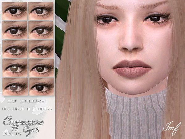 IMF Cappuccino Eyes N 73 - The Sims 4 Download
