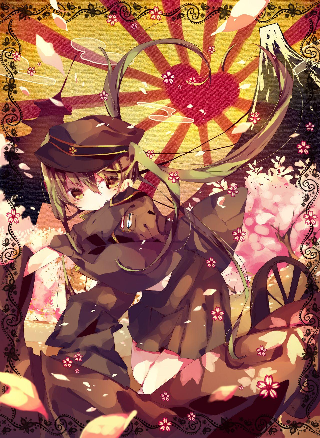 千本桜 Tumblr 千本桜をこよなく愛す画像壁紙 イラストまとめ