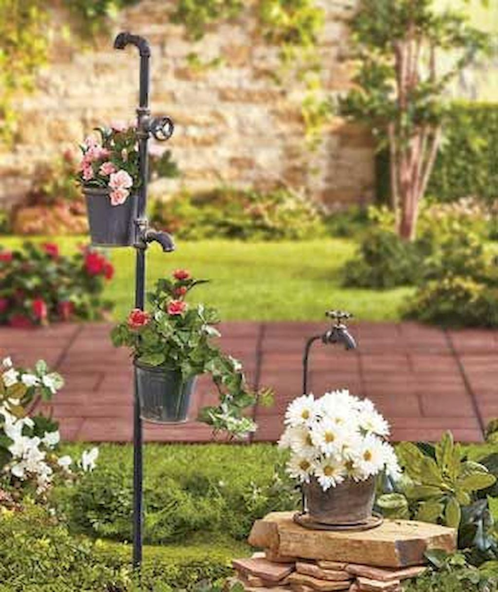 45 Totally Inspiring Decorative Garden Faucet Ideas With Images